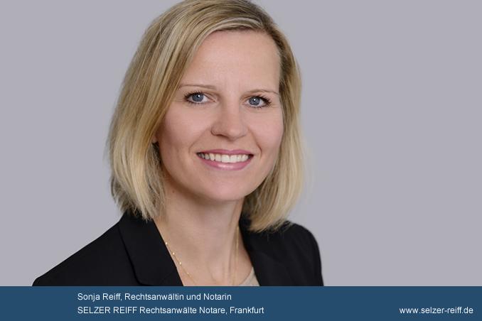 Rechtsanwältin Sonja Reiff als Notarin in Frankfurt vereidigt.